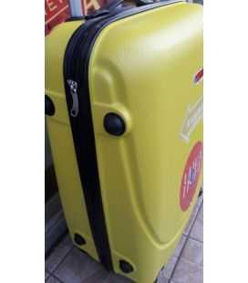 Чемодан Gravitt DS 310 Midi желтый картинка, изображение, фото