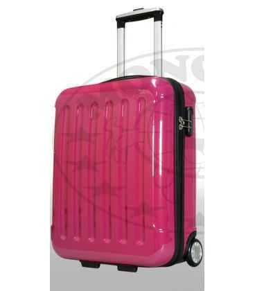 Валіза Франкфурт 42 літри рожева