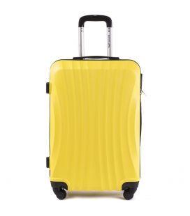 Чемодан Wings 159 Midi желтый