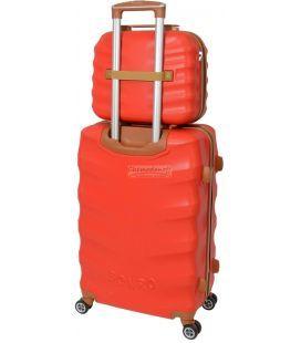 Комплект чемодан и кейс Bonro Next маленький красный