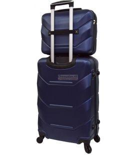 Комплект валіз і кейс Bonro 2019 маленький синій