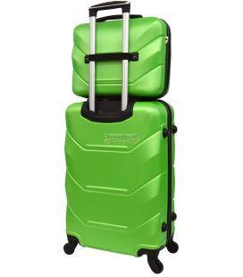 Комплект чемодан и кейс Bonro 2019 маленький салатовый