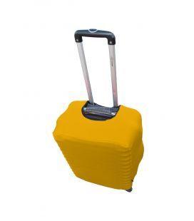 Чехол на чемодан из дайвинга Coverbag желтый Midi