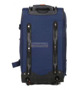 Дорожня сумка на колесах Airtex 610 Mini синя