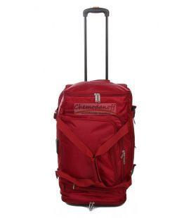 Дорожня сумка на колесах Airtex 610 Mini червона