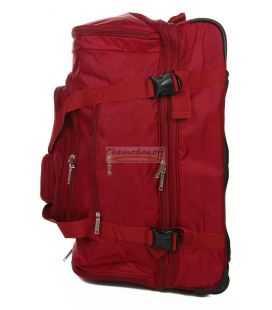 Дорожная сумка на колесах Airtex 610 Midi красная