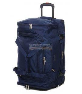 Дорожная сумка на колесах Airtex 610 Midi синяя