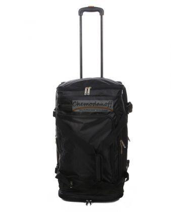 Дорожная сумка на колесах Airtex 610 Midi черная