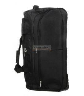Дорожня сумка на колесах Airtex 822 Midi чорна