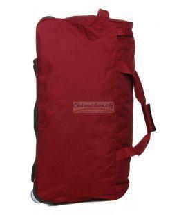 Дорожня сумка на колесах Airtex 822 Midi червона