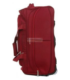 Дорожная сумка на колесах Airtex 822 Mini красная