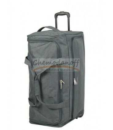 Дорожная сумка на колесах Airtex 823 L серая