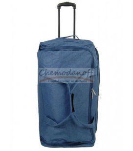 Дорожная сумка на колесах Airtex 823 L синяя