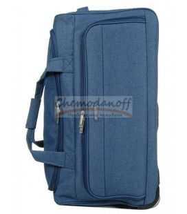 Дорожная сумка на колесах Airtex 823 M синяя