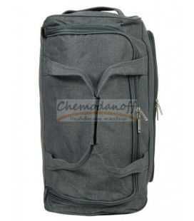 Дорожная сумка на колесах Airtex 823 S серая