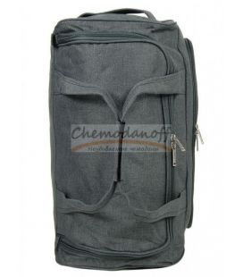 Дорожня сумка на колесах Airtex 823 S сіра