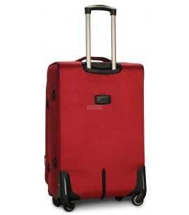 Валіза Fly 1807 Maxi червона 4 колесна