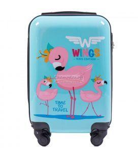 Чемодан Wings Kids Extra Mini Фламинго