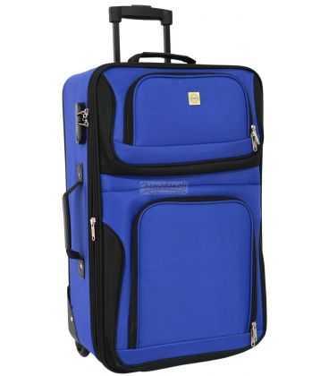 Валіза Bonro Best Mini синя картинка, зображення, фото
