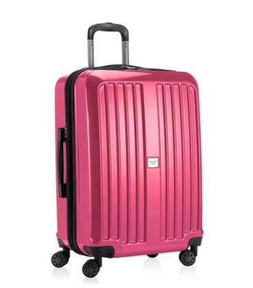 Чемодан Xberg Midi розовый глянец картинка, изображение, фото
