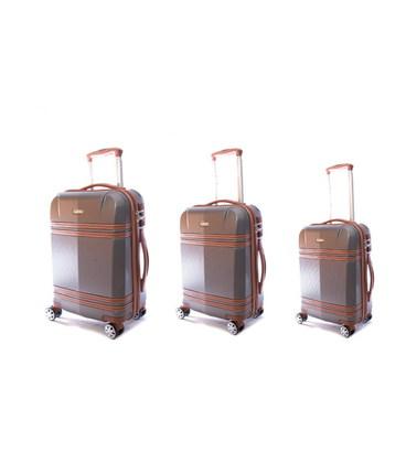 Набор чемоданов Airtex Deimos 949 серый картинка, изображение, фото