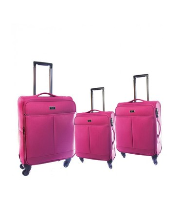 Набор чемоданов Airtex 122 New Star Nereide фуксия картинка, изображение, фото