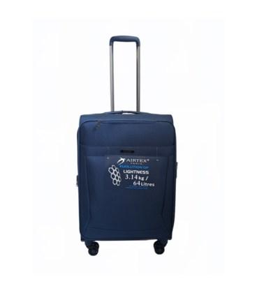 Чемодан Airtex 830 Nereide Midi синий картинка, изображение