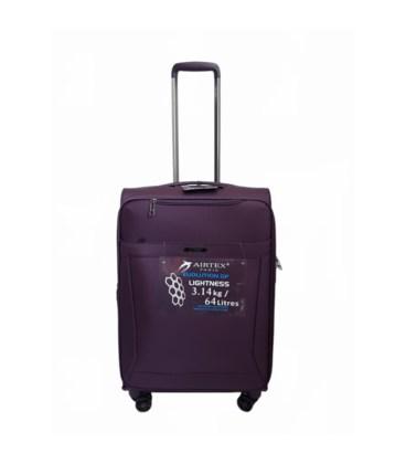 Чемодан Airtex 830 Nereide Midi фиолетовый картинка
