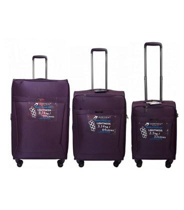 Набор чемоданов Airtex 830 Nereide фиолетовый картинка, изображение, фото