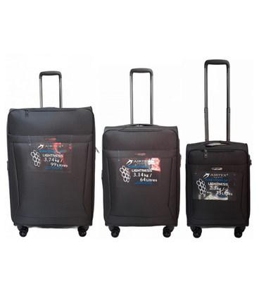 Набор чемоданов Airtex 830 Nereide серый картинка, изображение, фото