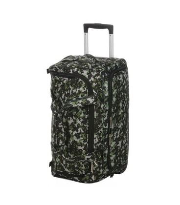 Дорожная сумка на колесах Airtex 824/75 зеленая картинка