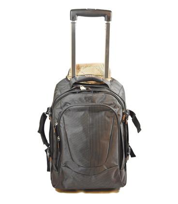 Рюкзак на колесах Airtex 560/3 черный картинка, изображение