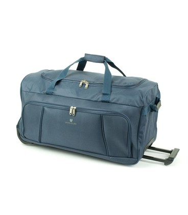 Дорожная сумка на колесах Airtex 897/55 синяя картинка, изображение, фото