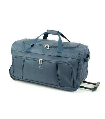 Дорожная сумка на колесах Airtex 897/75 синяя картинка
