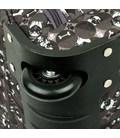 Дорожная сумка на колесах Airtex 899/65 Dog черная картинка, изображение, фото