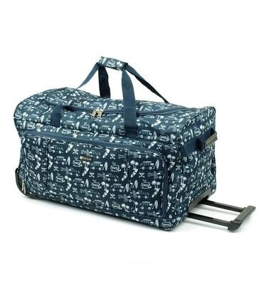Дорожная сумка на колесах Airtex 899/55 Bus синяя картинка