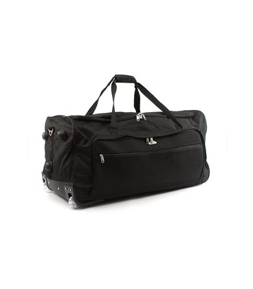 Дорожная сумка на колесах Airtex 852/60 черная картинка, изображение, фото