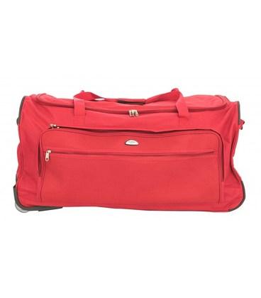 Дорожная сумка на колесах Airtex 852/60 красная картинка, изображение, фото