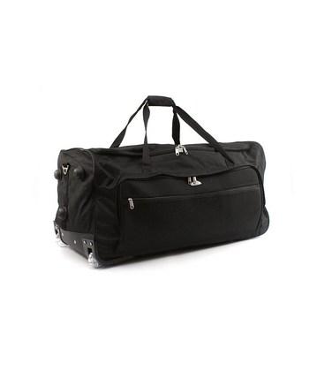 Дорожная сумка на колесах Airtex 852/70 черная картинка, изображение, фото