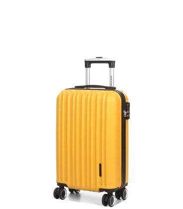 Чемодан Airtex 623 Worldline Midi желтый картинка, изображение, фото