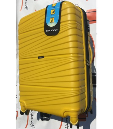 Чемодан Carbon 2020 Maxi желтый картинка, изображение, фото