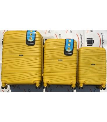 Набор чемоданов Carbon 2020 желтый картинка, изображение, фото