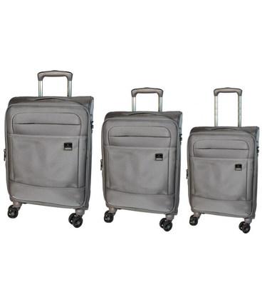 Набор чемоданов Airtex 832 Nereide серый картинка, изображение, фото