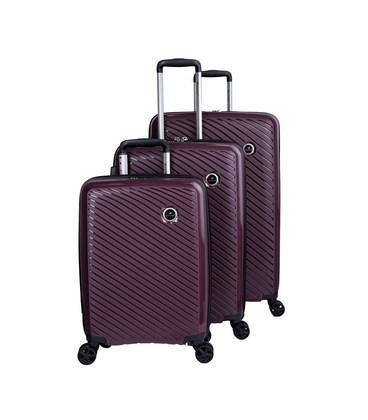 Набор чемоданов Snowball 04103 фиолетовый картинка, изображение, фото