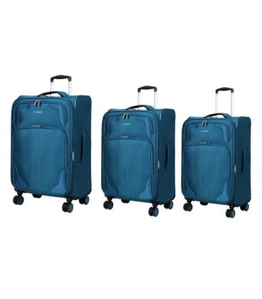 Набор чемоданов Snowball 95603 зеленый картинка, изображение, фото