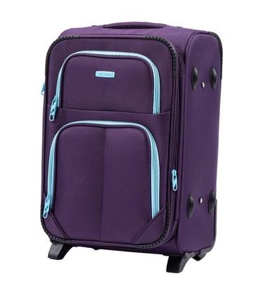 Чемодан Wings 214 Midi фиолетовый 2 колесный картинка, изображение, фото