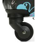 Чемодан Snowball 55203 Maxi бабочка черный картинка, изображение, фото