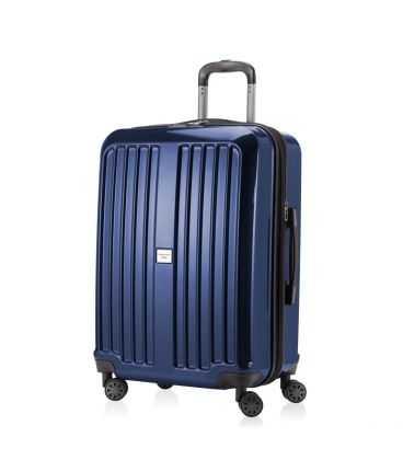Чемодан Xberg 90 литров синий глянец