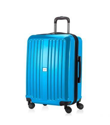 Чемодан Xberg Midi голубой глянец картинка, изображение, фото