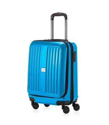 Чемодан Xberg 42 литра голубой глянец